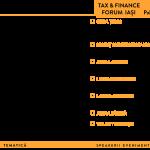 Tax & Finance Forum Iași 2019. Temele dezbătute