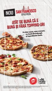 Pizza Hut blat aerat