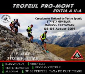 Stafeta Muntilor 2019 si Trofeul PRO-MONT