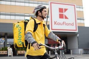 Kaufland livrarea la domiciliu - Parteneriat Glovo