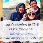 Bursele FLEX 2020-2021: Ce trebuie să facă elevii care vor să studieze în SUA?