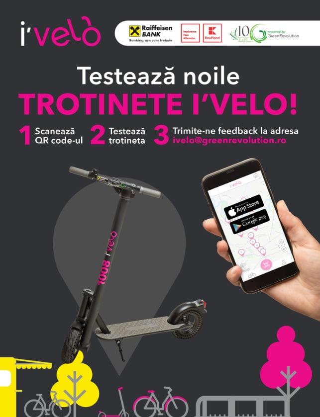 Biciclete si trotinete I'Velo