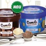 Înghețata Cremola ajunge și în supermarketurile Carrefour