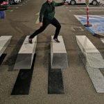 Trecere de pietoni 3D: Anunțul făcut de București Mall