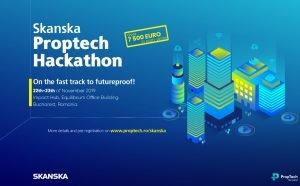 Hackathon Skanska si Proptech Romania