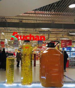 Colectare ulei uzat. Anuntul facut de Auchan
