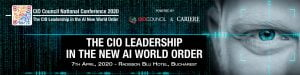 Conferinta Nationala CIO Council Romania 2020