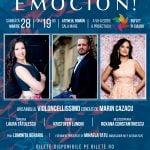 Concertul EMOCIÓN! are loc pe 28 martie, la Ateneul Român