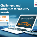 Evenimentul online Pria Challenges and Opportunities for Industry 2020 are loc pe 1 aprilie