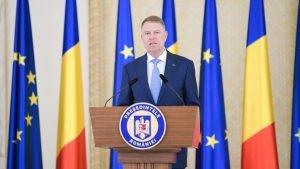 Stare de urgenta 2020 Klaus Iohannis