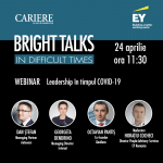 Bright Talks in Difficult Times webinar: Subiecte dezbătute