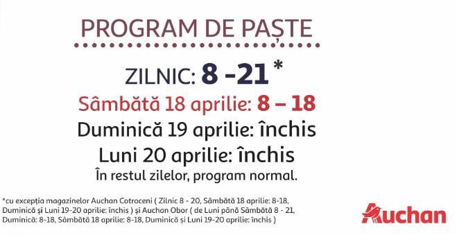 Program Auchan Paste 2020