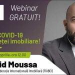 Webinar Târgul Național Imobiliar: Cum este piața imobiliară afectată de pandemia de coronavirus?