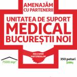 """Asociația """"Zi de Bine"""" susține spitalul amenajat de Auchan și Leroy Merlin"""