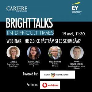 Bright Talks in DifficultTimes webinar 15 mai 2020