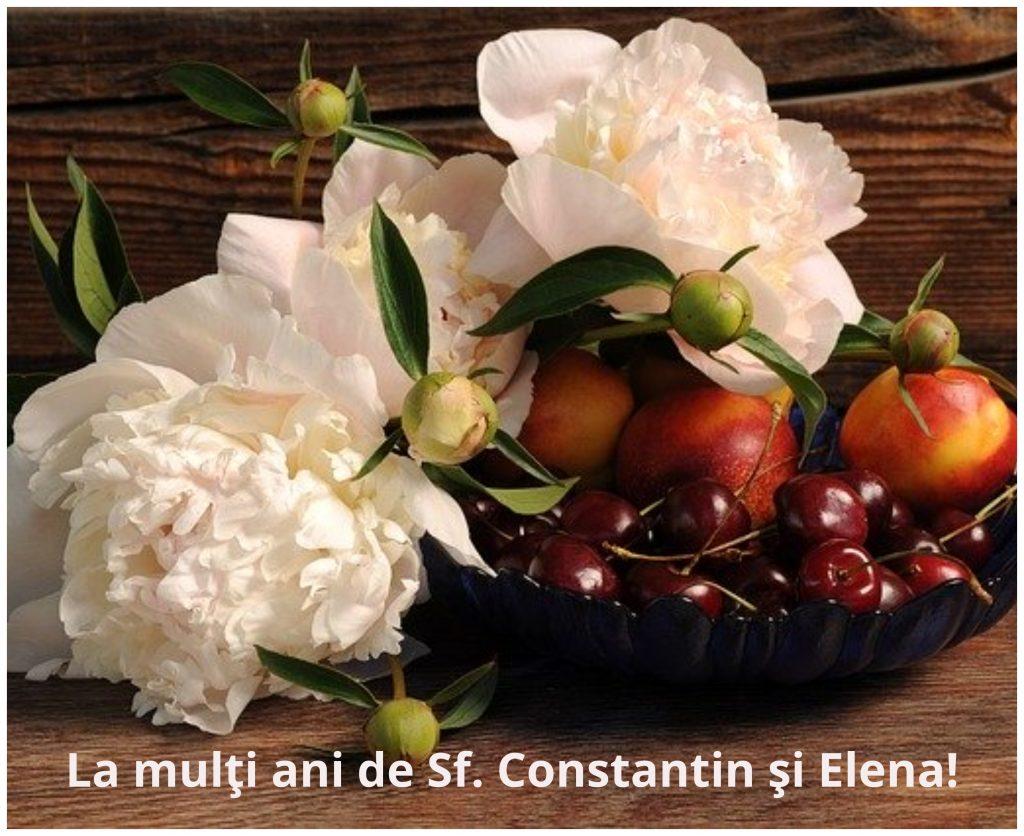 La multi ani de Constantin si Elena. La multi ani Elena! La multi ani Constantin! Felicitari