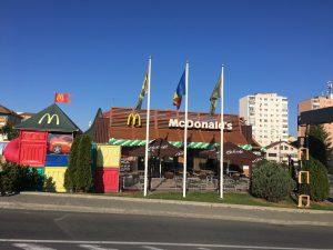 Vanzari McDonald's Romania