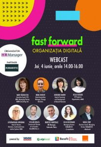 Evenimentul FAST FORWARD. ORGANIZATIA DIGITALA