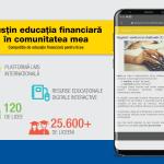 """Programul ABCdar bancar 2020: 122 de licee s-au înscris la competiţia """"Susțin educația financiară în comunitatea mea"""""""