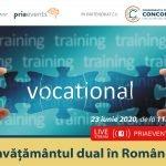 Conferința PRIA Învăţământul Dual în România are loc pe 23 iunie 2020