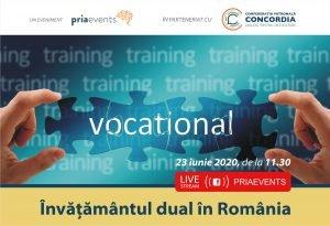 Conferinta PRIA Invatamantul Dual in Romania