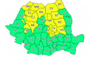 Cod galben de furtuni in Romania
