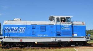 Locomotiva electrica Conpet Ploiesti