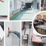 Asociația BookLand a renovat şapte şcoli din mediul rural