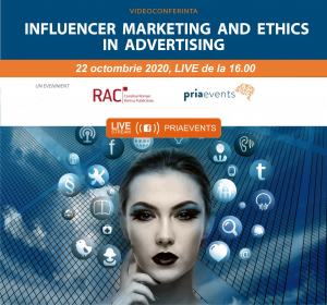 Conferinţa Influencer Mark eting and Ethics in Advertising 2020