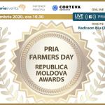 Pria Farmers Day Republica Moldova Awards 2020 are loc pe 17 noiembrie