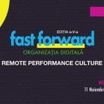 Evenimentul FAST FORWARD. ORGANIZAȚIA DIGITALĂ are loc pe 11 noiembrie