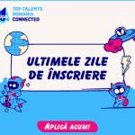 Top Talents România Connected 2020. Cine sunt invitaţii evenimentului?