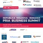PRIA Business Summit Republica Moldova 2020 are loc pe data de 8 decembrie