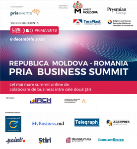 PRIA Business Summit Republica Moldova 2020