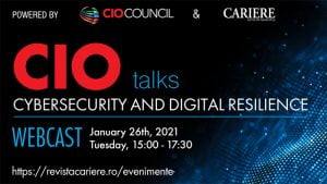 CIO TALKS 2021: Cybsersecurity and Digital Resilience