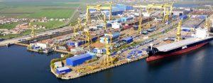 Santierul naval Damen Shipyards din Mangalia