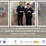 Expoziția Leontina Văduva și marile scene ale lumii are loc pe data de 5 martie