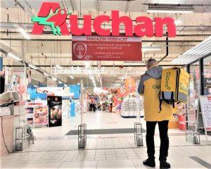 Livrari Glovo Auchan