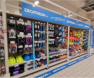 Produse Decathlon in supermarketurile Auchan