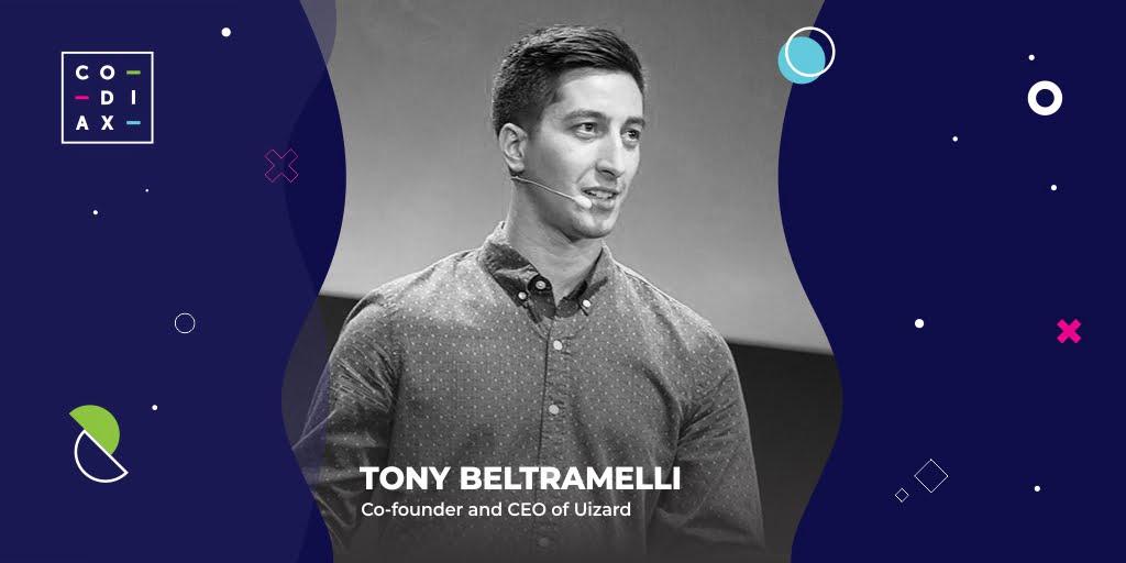 Codiax 2021.Tony Beltramelli, CEO al Uizard