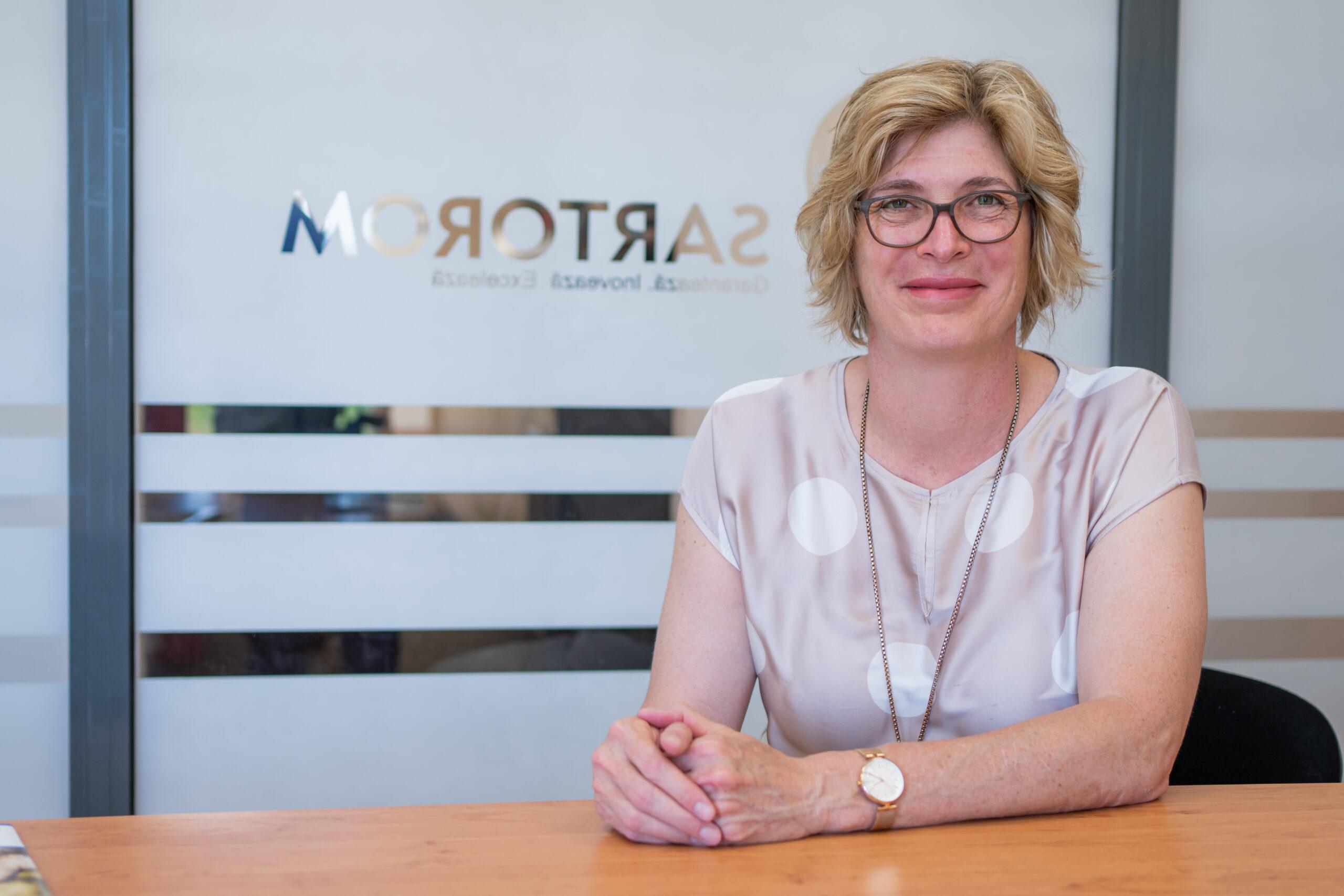 Carmen Bittenbinder, CEO Sartorom