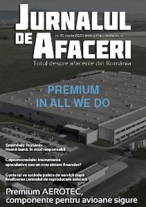 Revista coperta Jurnalul de Afaceri