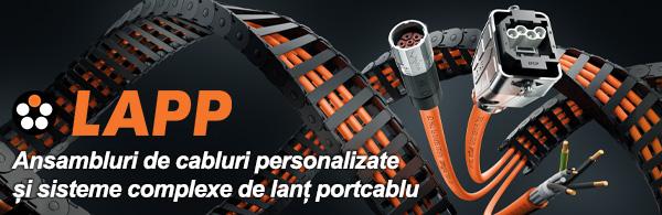 LAPP Ansambluri de cabluri personalizate si sisteme complexe de lant portocaliu